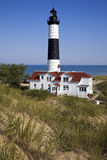 Big Sable Point Lighthouse in Michigan. Stock Photo