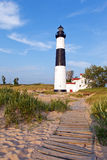 Big Sable Point Lighthouse - Ludington Michigan Royalty Free Stock Images