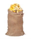 Big Sack Of Corn Cobs Royalty Free Stock Photo