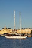 Big sailing boat in Helsinki Stock Photos