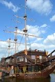 Big sailing-ship in St.Petersburg Stock Photo