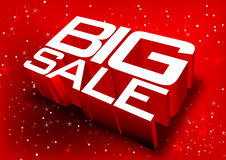 Big sale. A design for sale Royalty Free Stock Photography