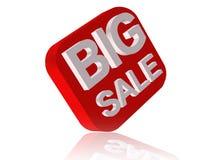 Big Sale. Three dimensional graphic depicting words big sale Stock Photos