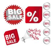 Big sale Royalty Free Stock Photography