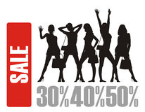 The big sale 4 Royalty Free Stock Images