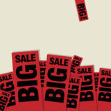 Big Sale abstract design Stock Image