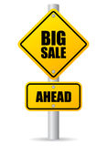 Big sale ahead Royalty Free Stock Photo