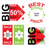 Big sale announcement  Royalty Free Stock Images