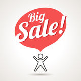 Big Sale Announcement Symbol Royalty Free Stock Image