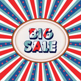 Big sale attractive poster Stock Photos