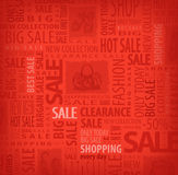 Big Sale. Authors illustration in vector Royalty Free Stock Photo