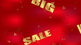Big Sale background stock footage