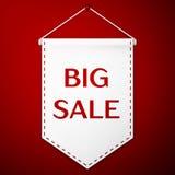 Big Sale Background. Banner, Poster, Sale Flyer Vector illustration EPS 10 Royalty Free Stock Photography
