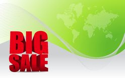 Big sale background business sign Royalty Free Stock Image