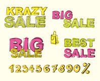Big sale  background Stock Photo