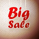 Big sale background. Stock Image