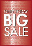 Big sale background Royalty Free Stock Photo