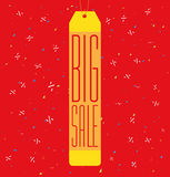 Big sale background Royalty Free Stock Image