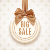 Big sale badge Stock Image