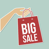 Big sale bag Stock Images