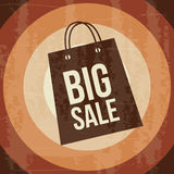 Big sale bag Royalty Free Stock Photos