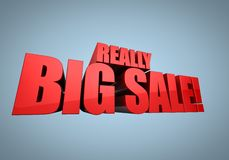 Big Sale Banner Royalty Free Stock Image