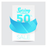 Big Sale Banner. Crystal. Vector Illustration Royalty Free Stock Photography