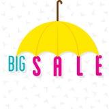 Big sale banner design Stock Photography