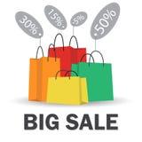 Big sale banner Stock Image