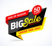 Big Sale banner Stock Photos