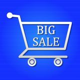 Big sale banner stock illustration