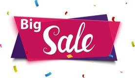 Big Sale banner Stock Photo