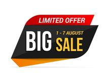 Big Sale Banner Stock Photo