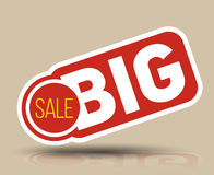 Big SALE banner Stock Images