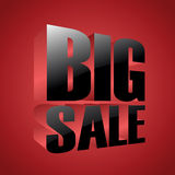 Big sale banner Royalty Free Stock Photography