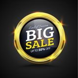 Big Sale banner Stock Photos