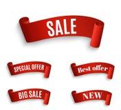 Big Sale Banner.Super Sale Banner Ribbon. Vector Illustration Stock Photography
