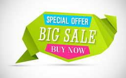 Big Sale Banner. Royalty Free Stock Photography