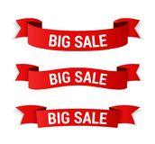 Big Sale Banners Royalty Free Stock Photo
