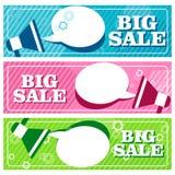 Big sale banners Stock Photo
