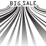 Big Sale bar codes all data is fictional. EPS 10 Royalty Free Stock Image