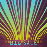 Big Sale bar codes all data is fictional. Big Sale bar codes all data is fictional vector file included Royalty Free Stock Photography
