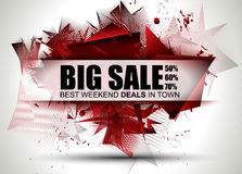 Big Sale Best Discoount in time web banner for shop sales promotions Stock Photo