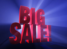 Big Sale! Royalty Free Stock Image