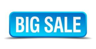Big sale button. Big sale square 3d realistic isolated web button. big sale Stock Photo