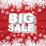 Big sale christmas Royalty Free Stock Photos