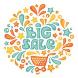 Big sale royalty free illustration