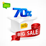 Big sale concept Royalty Free Stock Photo