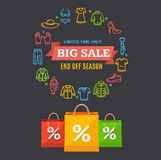 Big Sale Concept. Vector Royalty Free Stock Image