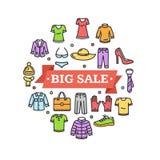 Big Sale Concept. Vector Stock Photo